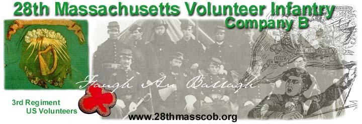 28th Massachusetts Volunteer Infantry – Company B